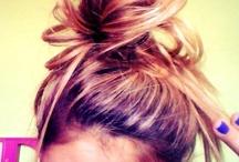 op med håret