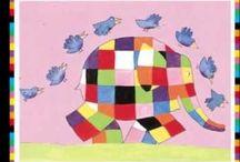 Boek: Elmer / peuter idee