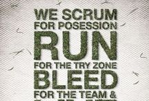 Rugby - 'nuff said. / From grass roots to premiership, rugby pinspiration at its best.