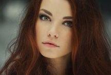 face, make up, hair