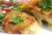 BRAMBOROVÉ A ZELENINOVÉ POKRMY / recepty na pokrmy z brambor a zeleniny