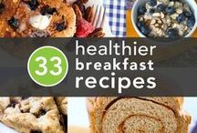 Healthy Breakfast Recipes / Looking for a healthy way to start the day? Here are a few ways to give your body the healthy kick start it needs in the morning.