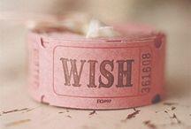 Wishlist / by TARTE_AUX_FRAISIER