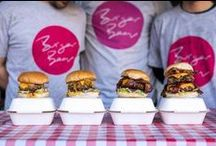 London's Best Burgers / Gone are the days of anaemic patties and limp lettuce - instead you'll find brioche buns and bacon jam, cheese for days and meat you'll be talking about for weeks. These days, they tend to be messy affairs so we'd suggest forgoing any white clothing and cutlery, and getting your hands around one of the many badboys below.