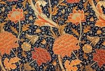 Wallpaper, Fabric, Textiles, etc / A mine of inspiration :)