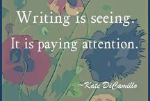 """Writing... It's a passion! / """"When I was young I wanted to be an astronaut to get of this earth, today I write for the same reason..."""""""