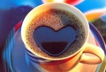 """Coffee - It's an addiction!  / """"As long as there was coffee in the world, how bad could things be?"""" - Cassandra Clare"""