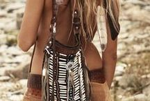 "my favorite fashion style / ""Minimal ""boho +chic"