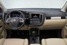 Moving Mitsubishi Interiors / A peek inside Mitsubishi vehicles.