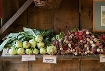 Huerta orgánica / Ideal para una vida sana