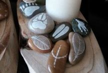 Stenen gemaakt door Cindy Kesselaar / Stenen schilderen