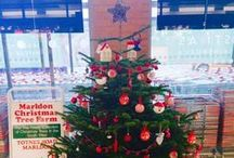 Christmas Inspiration 2015 / Shared photos of decorations & trees, kindly shared by Marldon Christmas Tree Customers and social media. To inspire you over the festive period.