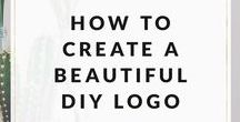 DIY Logo Design / How to design your own logo, DIY logo design, logo design ideas for creative entrepreneurs & small business owners. solopreneursidekick.com