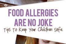 Food Allergies / Food allergies, facts, foods and recipe ideas
