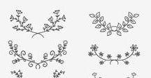 Muster / pattern, vorlagen, graphics
