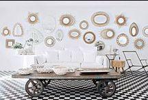 tendance deco miroirs / Tendance déco: les miroirs. C'est l'accumulation de miroirs sur les murs qui est la tendance deco à découvrir au fils de nos images. Découvrez nos projets: http://www.e-interiorconcept.com