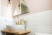 BANHEIRO / Decorações de banheiro, diy e etc.