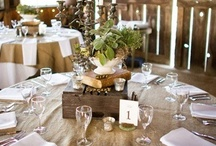 Wedding Reception Inspiration / by EcoPoshEvents&Decor