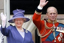 ,Elizabeth & Philip / Queen Elizabeth and Prince Philip, the Duke of Edinburgh / by Audrey Merchant