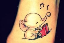 Pretty Little Things / Cute, whimsical, fanciful, hidden little tattoos that we love