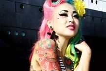Funky Fresh / tattoos and girls, funky and new