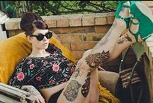 Urban Decay / urban looks, girls and tattoos