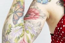 Spring Ink / Flowers, butterflies, bunnies and pastel canvas to excite your senses for the arrival of Spring. : )
