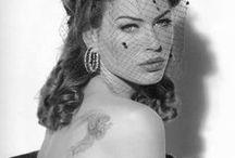 Fancy / tattoos, women, fancy and high brow