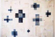 Quilts / Modern quilts and art quilts that inspire the use of shape and color