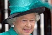 *Queen Elizabeth's Hats / These pictures of Queen Elizabeth are from 2000 or earlier thru 2009. She is a beautiful and sweet person and I just love her hats! Enjoy them and pin as many as you like!! / by Audrey Merchant