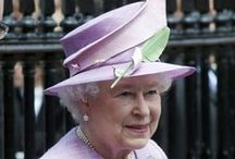 *Queen Elizabeth's Hats*2 / These are some of Queen Elizabeth's hats from 2010 through December 25, 2012..... Enjoy them and feel free to re-pin as many as you'd like! / by Audrey Merchant
