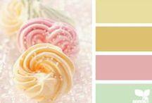 ♡ Maison ♡ Color palettes