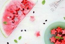 ♡ Food ♡ Des fruits et légumes à croquer!