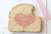 ♡ Food ♡  Brunch, goûters et petits déj / Brunch - goûters
