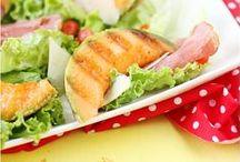 ♡ Food ♡ Salades & plats sains