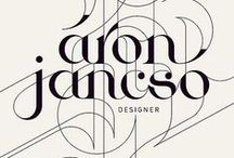 Fonts and letterings