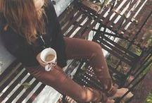 > Morning has broken and the coffee has spoken <