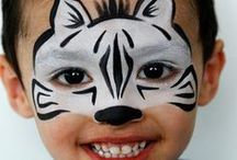 Face Paining Ideas / Carnival Face Painting Ideas