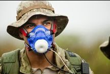 The Human Weapon (Airman) / on Airman Magazine Sep 2014 featuring COSMED products: BOD POD and K4b2