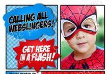 Csongi's superheros party