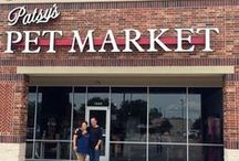 Patsy's Pet Market / Your Pet's Local Farmers Market™  If you find yourself in Katy, TX come on by and see us sometime.  You and your dog will have the most fun you've ever have in a pet store.  We sell premium and super premium dog and cat foods and unique specialty chews, treats, collars, leashes and more.  Come on by!