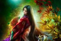 chińskie obrazki