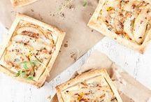 ♡ Food ♡ Tartes salées & feuilletés