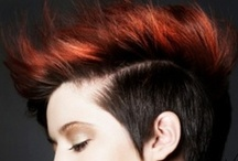 PUNK l MOHAWKS  l MULLETS /  Punk, The 80's Mullet, the Mohawks! Will you be rocking the look? Or are you a stylist that will be touching up on your Mullet making skills???  We would love to hear from fabulous contributors.  Comment on a pin to get in touch!  www.ukhairderssers.com / by UKHairdressers.com