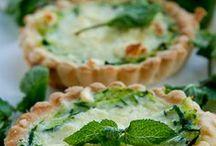 Hartige taarten & hartige hapjes / Savory pies / Swedish Cakes / Sandwiches