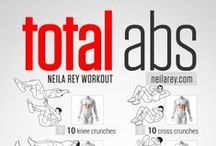Visual Workouts / Easy-to-follow visual no-equipment workout guides for all fitness levels.  / by Neila Rey