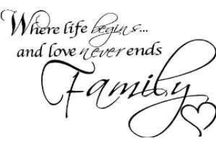 Family / Just a few quotes bout about family