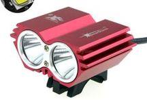 Fietslamp Solarstorm X2 Zwart en rood