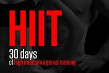 30 Days of HIIT / 30 Days of HIIT is a visual no-equipment fitness program designed for higher burn in a shorter period of time. If you're looking for weight loss or muscle tone or just improved endurance but haven't got a lot of spare time on your hands, then this program is the right one for you. #fitsummer #fitness #summerfitness  http://neilarey.com/programs/30-days-of-hiit.html / by Neila Rey
