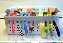 Creatief georganiseerd / Crafts Organised